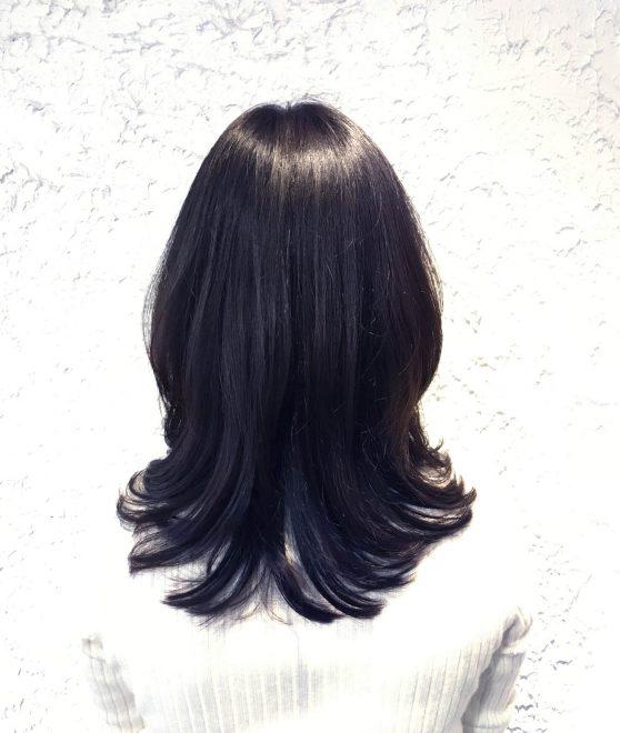 ミディアム / stylist: Obata